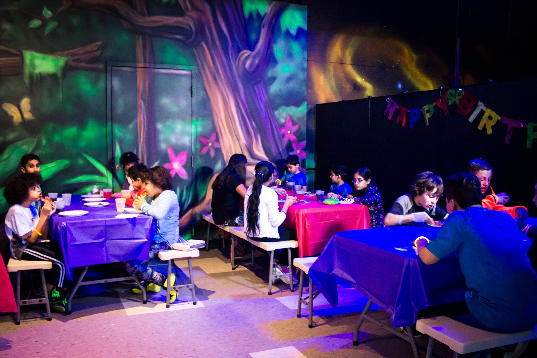 GlowZone 360 Birthday Parties