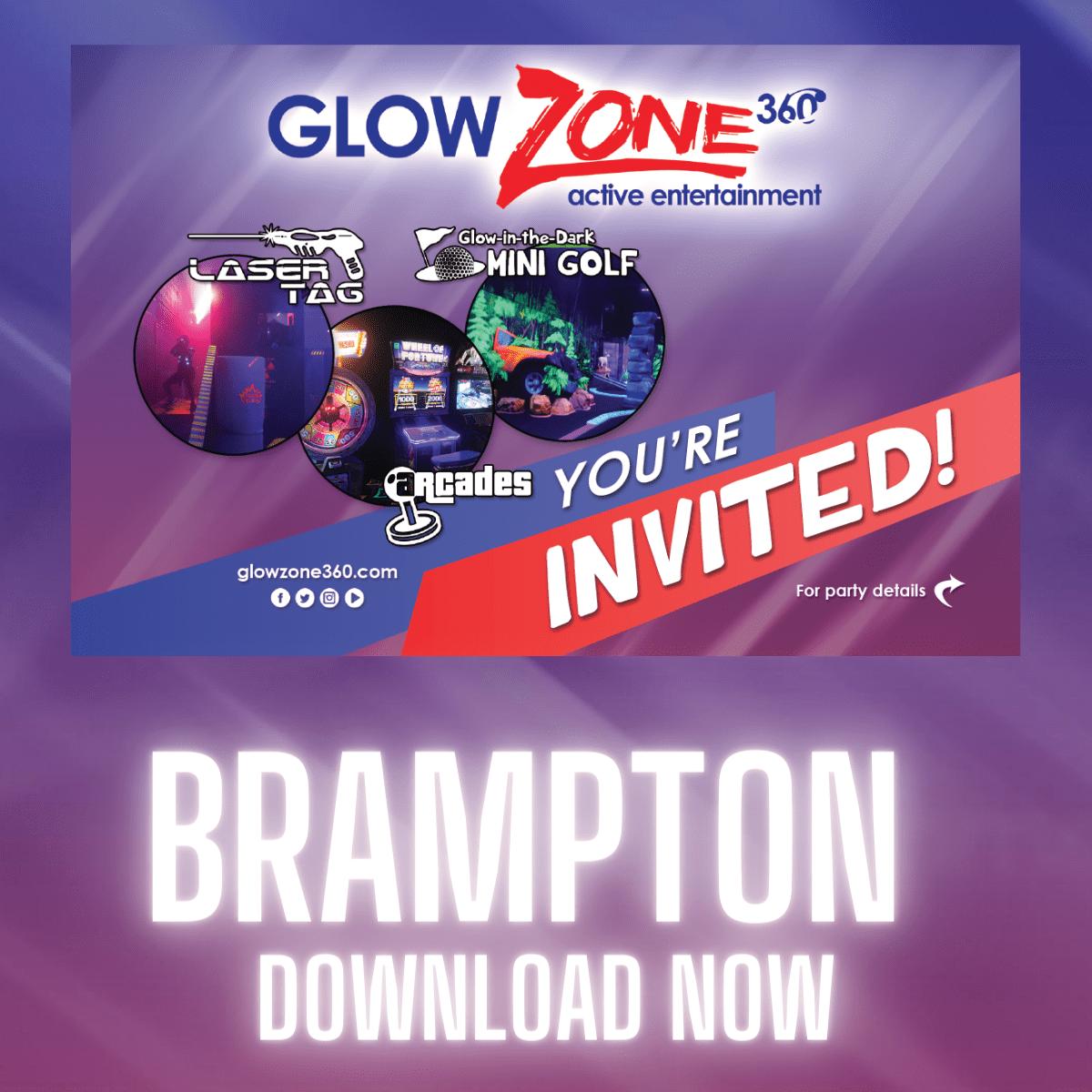 Brampton Party Invites